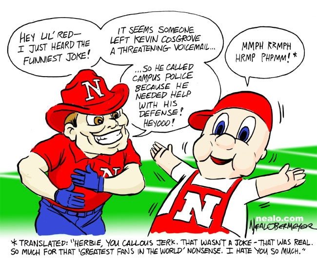 herbie husker lil red kevin cosgrove