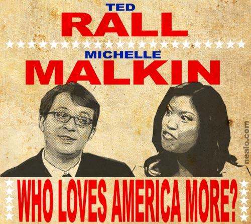 ted rall michelle malkin