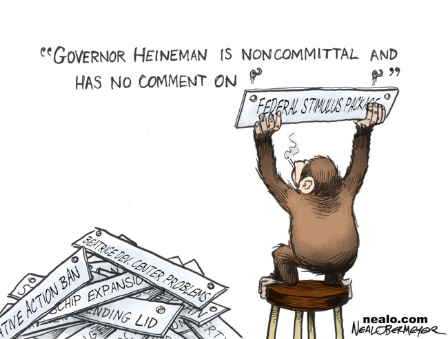 heineman smoking monkey federal stimulus package