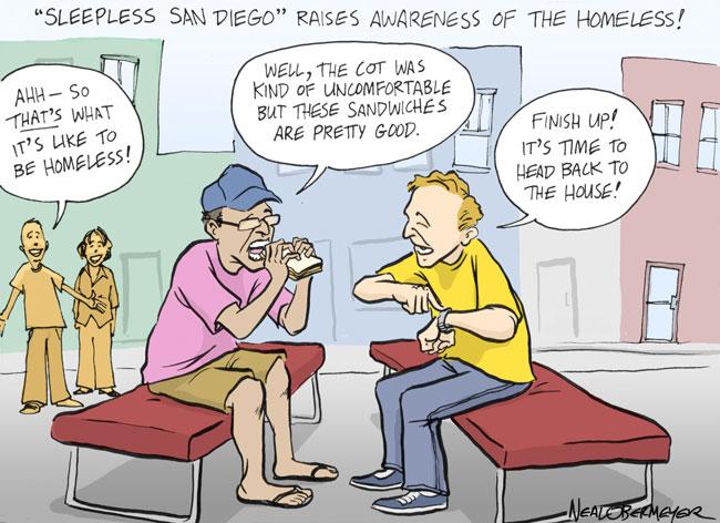 sleepless san diego homeless awareness