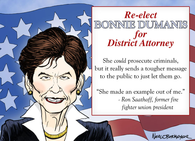 district attorney bonnie dumanis fire union president ron saathoff