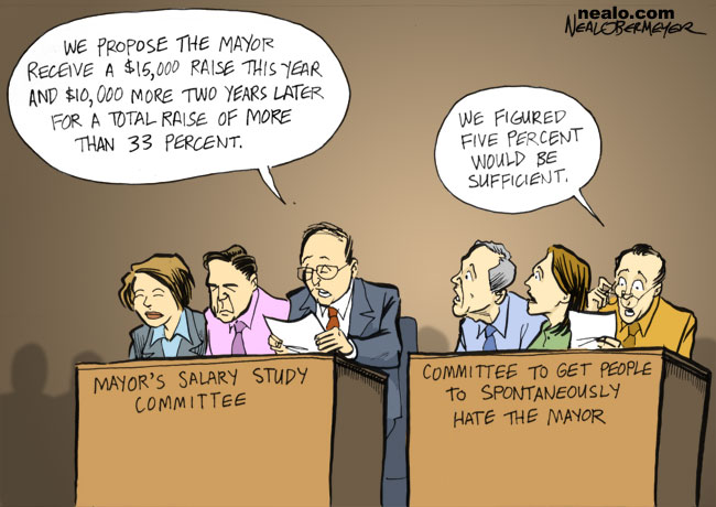 mayor's salary study committee