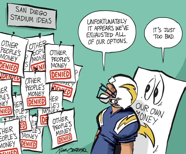 chargers money